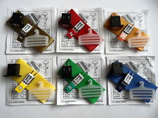 Genuine Tamiya New-Old-Stock AM/FM Frequency Crystals / Aerial Ribbons/Holders