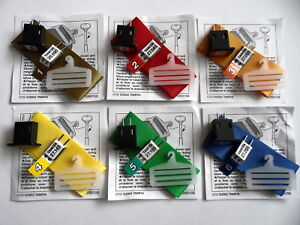 Choice Of Tamiya New-Old-Stock ***27mhz AM*** Frequency Crystals/Aerial Ribbons