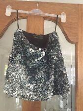 AllSaints Party Short/Mini Sequin Skirts for Women