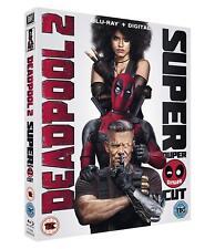 Deadpool 2 Super Duper Cut 2-disc Blu Ray Genuine UK 2018 Slip Cover Digital