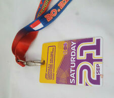 Lanyard Ticket Singapore Airlines Formula 1 Grand Prix 2019 Grand Stand Sat 21st