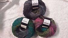 Noro Silk Garden Lite # 2121 Grey Green Pink Mix 50g