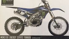 YZ250F, YZ450F graphics Monster Energy FX 18-12226 Shroud Kits 10 11 12 13