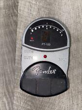 Fender PT-100 Tuner Foot Pedal Metal Housing