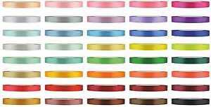 (0,04€/m) Satinband 6mm Dekoband Geschenkband Schleifenband