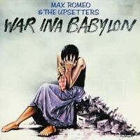 MAX ROMEO - WAR INA BABYLON  CD  9 TRACKS INTERNATIONAL POP / REGGAE  NEU
