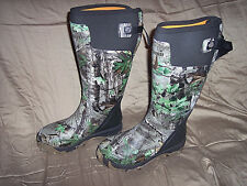LaCrosse Pro Boots Camo Hunting Boots Scent Free Waterproof Mens Sz 8 Camo Boots