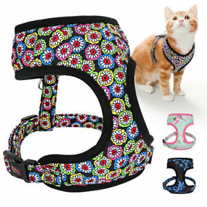 Pet Cat Walking Harness Jacket Small Large Dogs Veat Mesh Breathable Dog Harness
