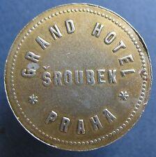 Telephone token - 4.09.2 - Czech - Sroubek Praha  Fe brasspl.R -more on ebay.pl