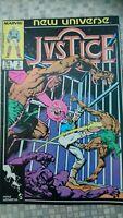 Marvel, New Universe, Jvstice Justice, 1986, number 2