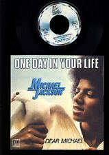Michael Jackson - One Day In Your Life - Dear Michael - 7 inch Vinyl - FRANCE