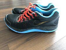Nike Lunarglide+ 4 Chicago Marathon Shoe 2012 Black Blue Orange - Chi 580419 076