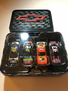 RARE ACTION 1:64 2004 CHEVROLET CELEBRATES 400 NASCAR WINS Gordon Johnson Petty+