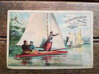 Victorian Trade Card/ Great Atlantic and Pacific Tea Co & A&P Baking Powder 1888