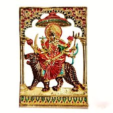 Big Maa Durga Statue Goddess Sherawali  Ambe maa Puja Hindu Religious US Seller