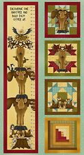 Build each other Up Moose Woodland 24 inch Growth panel Leanne Anderson