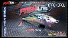 Fishus Real Fish 11cm 22gr Floating Bass Pike Fishing Lure Mackerel Colour