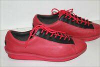 CAMPER Sneakers Lacets Femme Cuir rose Fuchsia Doublés Cuir T 40 TTBE