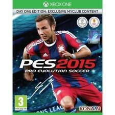 Jeu XBOX ONE PES 2015 DAY ONE EDITION