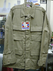 PROPPER BDU SHIRT KHAKI RIPSTOP TWILL TACTICAL  4 POCKET VARIOUS SIZES NWT
