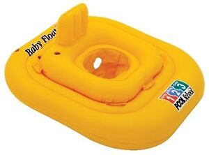 INTEX Baby FLOAT Pool Scho Schwimmhilfe Schwimmring Schwimmsitz bis 15Kg NEU OVP