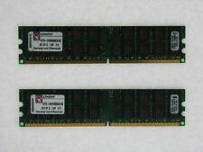 Kingston 4GB 2X2GB DDR2 PC2-5300 240Pin ECC REG SERVER RAM KTH-XW9400K2/4G