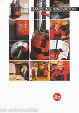 Prospectus BT chariot élévateur et levage témoin 2002 (d) Brochure Forklift