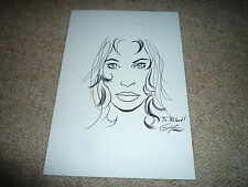 Greg Horn SIGNED AUTOGRAPH 20x30 cm In Person Plus Drawing Drawing She-Hulk