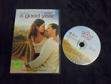 "USED DVD ""A Good Year""  Widescreen or FullScreen"