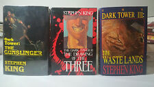 ~1st/1st~ 1-3 The Dark Tower: The Gunslinger Bk. 1 by Stephen King (1982)