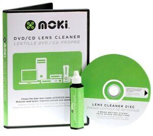 MOKI DVD/CD/PCs & Gaming Lens Cleaner NEW