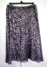 AK Anne Klein Women's Skirt Size 8P Multi Color