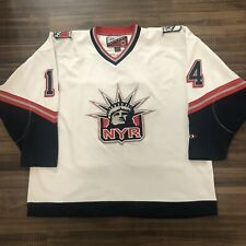 New York Rangers Theo Fleury Lady Liberty NHL Hockey Jersey White Alternate XXL