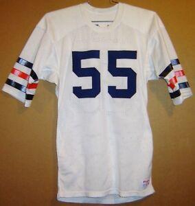 CHICAGO BEARS OTIS WILSON #55 WHITE MESH NFL Size 38 JERSEY