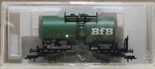 HO Gauge Fleischmann 5419K 2-Axle Tank Car 'BfB' Green DB Near Mint Boxed