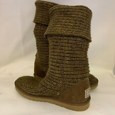 Botas UGG Boots Classic Cardy Punto Size UK 7.5