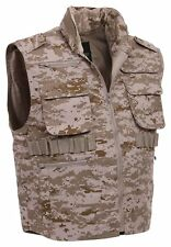 Rothco 72550 Men's Desert Digital Camo Ranger Vest, Size: Large - BRAND NEW!