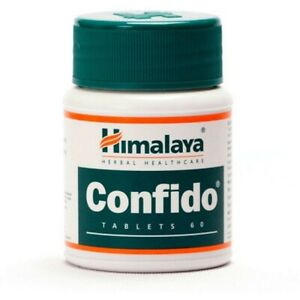 Himalaya Confido Tablets (60tab) Pack of 2-For energy, vitality, physical streng