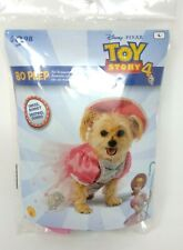 NEW Disney Pixar TOY STORY 4 Dog Costume BO PEEP Large HALLOWEEN Rubie's