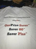 Vtg 90-00s Pacific Bell Telephone Calling Plan Employee Graphic Tee Shirt 2xl