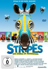 STRIPES - EIN ZEBRA IM RENNSTALL  DVD NEU  BRUCE GREENWOOD/GARY BULLOCK/+