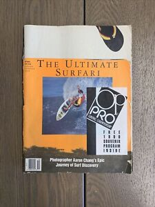 Vintage Surfing Magazine - October 1990 - Aaron Chang Photo Spread