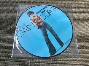 RARE PICTURE DISC ALBUM VINYL LP 7T SERGE GAINSBOURG HISTOIRE DE MELODY NELSON