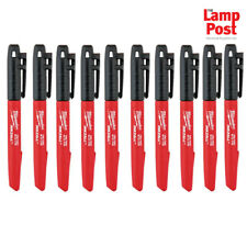Milwaukee 48223100 Inkzall Jobsite Fine Point Marker Pen x 10