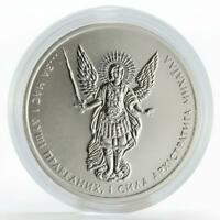 Ukraine 1 hryvna Archangel Michael silver coin 2018
