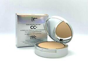 It Cosmetics Your Skin But Better CC+ Perfecting Powder ~ Medium ~ .33 oz BNIB
