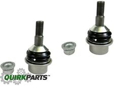 11-18 GRAND CHEROKEE DURANGO FRONT LOWER CONTROL ARM BALL JOINT PAIR MOPAR OEM
