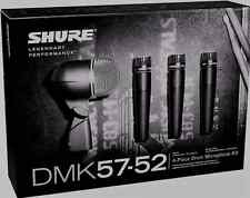 Like N E W Shure DMK57-52 Drum Mic Kit Authorised Dealer Open Box Never Used