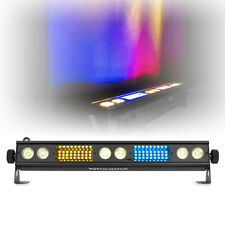 More details for beamz lsb340 led bar light rgb with strobe disco dj party dmx auto sound mode