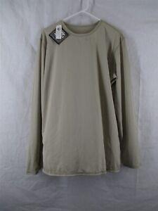Gen 3 Level 1 Large Long Sand Tan Silk Weight Undershirt ECWCS Army USGI NWT